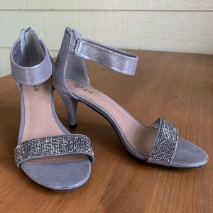 Style and Co Sequin Ankle Evening Sandal
